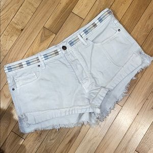 Free People denim jean shorts bottom pants
